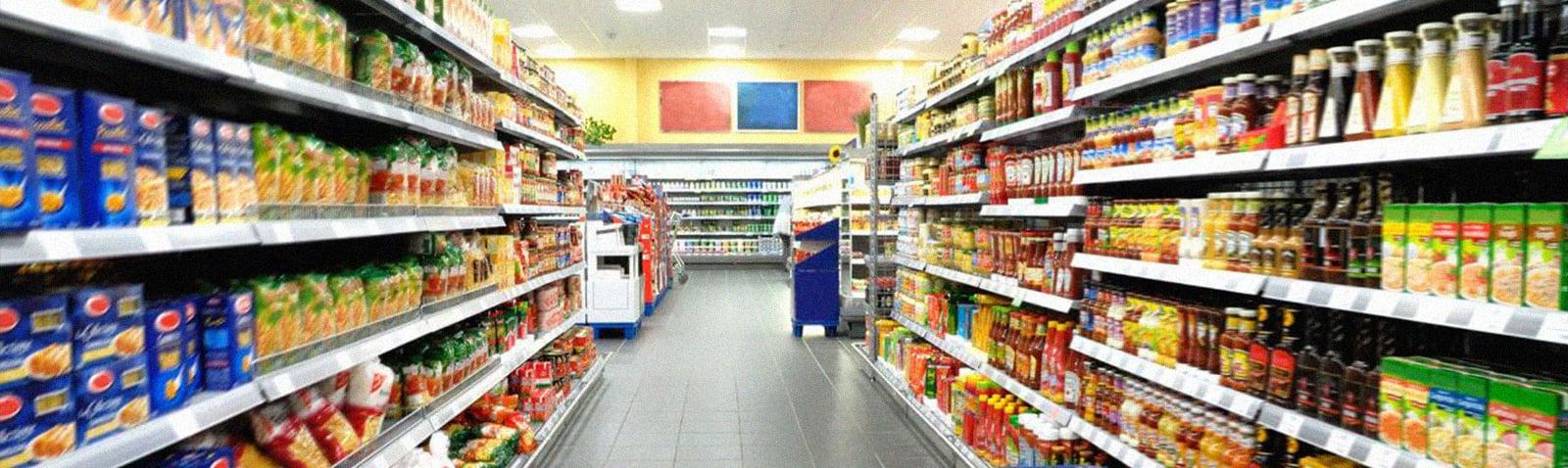 gondolas supermercados