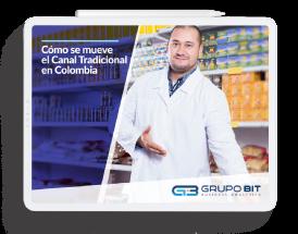 Infografía Cómo se mueve el canal tradicional en Colombia